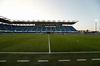 SAN JOSE, CA - SEPTEMBER 19: Earthquakes Stadium before a game between Portland Timbers and San Jose Earthquakes at Earthquakes Stadium on September 19, 2020 in San Jose, California.