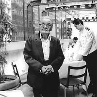 090201: CLARE HOLLINGWORTH: HONG KONG<br /> Ninety year-old Clare Hollingworth poses in Hong kong's Foreign Corespondants Club.  Hollingworth is a celebrated veteran journalsit living in the ex-British colony.<br /> Photo by Richard Jones/sinopix<br /> ©sinopix