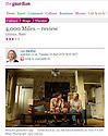 4000 Miles, Ustinov Studio, Theatre Royal Bath,The Guardian 24.04.13.