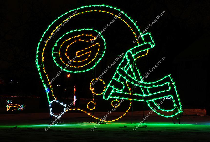 2009 Holiday Fantasy in Lights at Olin-Turville Park on Saturday, 12/26/09