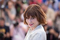 MARIE-JOSEE CROZE - PHOTOCALL DU JURY DE LA CINEFONDATION ET DES COURTS METRAGES, 69EME FESTIVAL DE CANNES