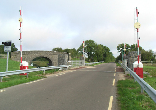 File image of the canal lift bridge at Begnagh, Co Longford