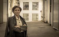 Evolutionary films production - Leni.Leni,<br /> Shot at Earling Studios, London<br /> Photo by Stephen Daniels 26th September 2015<br /> Actress & star Valeria Kozhevnikova