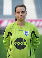 K AA Gent Ladies : Nicky Evrard<br /> foto Dirk Vuylsteke / nikonpro.be