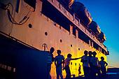 Marins en escale au port de Nouméa