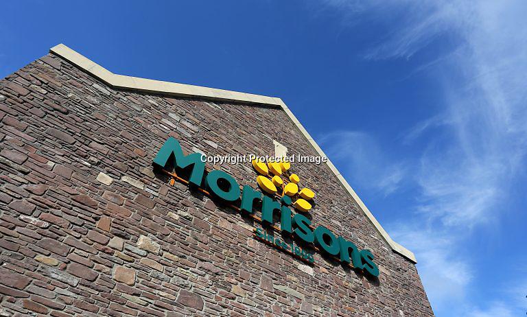 PR PHOTOGRAPHY Morrisons super market, Brecon, Wales, UK
