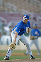 September 1 2008: David Pfeiffer of the Inland Empire 66'ers during game against the Rancho Cucamonga Quakes at The Epicenter in Rancho Cucamonga,CA.  Photo by Larry Goren/Four Seam Images