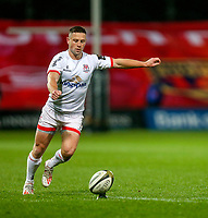 9th November 2019 | Munster vs Ulster<br /> <br /> John Cooney converts during the Round 6 PRO14 League clash between Munster Rugby and Ulster Rugby at Thomond Park, Limerick, Ireland. Photo by John Dickson / DICKSONDIGITAL