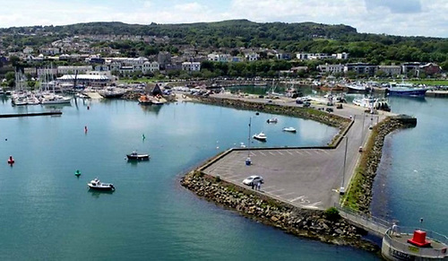 New development works are budgeted for at the Fishery Harbour at Howth in County Dublin