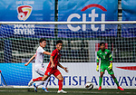 Shanghai SIPG vs HKFA U-20 during their Main Plate Quarter-Final match as part of day three of the HKFC Citibank Soccer Sevens 2015 on May 31, 2015 at the Hong Kong Football Club in Hong Kong, China. Photo by Xaume Olleros / Power Sport Images