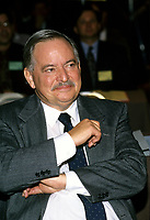 Montreal (Qc) CANADA, November 1994 File Photo -<br /> Parti Quebecois (PQ) Leader Jacques Parizeau .<br /> <br /> <br /> Photo by Pierre Roussel /AQP