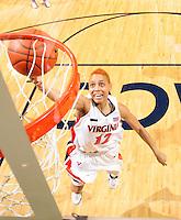 Virginia women's basketball player Britnee Millner