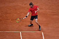 16th April 2021; Roquebrune-Cap-Martin, France;  Stefanos Tsitsipas (Gre)   during the Rolex Monte Carlo Masters