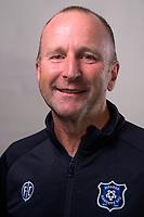 Manager Brendan Marsh. 2021 Miramar Rangers headshots at the Basin Reserve in Wellington, New Zealand on Tuesday, 13 April 2020. Photo: Dave Lintott / lintottphoto.co.nz