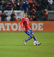 CARSON, CA – JANUARY 22: Chile defender Juan Abarca (3) during the international friendly match between USA and Chile at the Home Depot Center, January 22, 2011 in Carson, California. Final score USA 1, Chile 1.