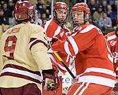 Alex Chiasson (BU - 9), Max Nicastro (BU - 7), Alex Chiasson (BU - 9) - The Boston College Eagles defeated the Boston University Terriers 3-2 (OT) to win the 2012 Beanpot championship on Monday, February 13, 2012, at TD Garden in Boston, Massachusetts.