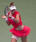 Elina Svitolina (UKR) loses to Ekaterina Makanrova (RUS) 6-3, 7-5