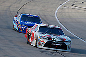 NASCAR XFINITY Series<br /> TheHouse.com 300<br /> Chicagoland Speedway, Joliet, IL USA<br /> Saturday 16 September 2017<br /> Erik Jones, NBA 2K18/GameStop Toyota Camry and Elliott Sadler, OneMain Financial Chevrolet Camaro<br /> World Copyright: Russell LaBounty<br /> LAT Images