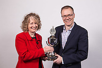 Winners of the John Pearce Charity Quiz were University of Nottingham School of Law. Pictured are Susan Russell and Peter Cartwright
