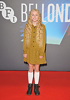 """Olive Tennant at the 65th BFI London Film Festival """"Belfast"""" American Airlines gala, Royal Festival Hall, Belvedere Road, on Tuesday 12th October 2021, in London, England, UK.  <br /> CAP/CAN<br /> ©CAN/Capital Pictures"""