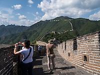 Große Mauer bei Mutianyu, Peking, China, Asien, UNESCO-Weltkulturerbe<br />  Great Wall at Mutianyu, China, Asia, world heritage