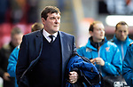 Aberdeen v St Johnstone…08.12.18…   Pittodrie    SPFL<br />Saints manager Tommy Wright<br />Picture by Graeme Hart. <br />Copyright Perthshire Picture Agency<br />Tel: 01738 623350  Mobile: 07990 594431