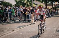 Julien Bernard (FRA/Trek-Segafredo) rolling in<br /> <br /> Stage 7: Fougères > Chartres (231km)<br /> <br /> 105th Tour de France 2018<br /> ©kramon
