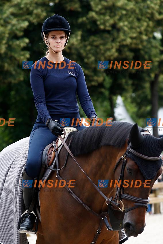 Athina Onassis<br /> Parigi 02-07-2017 <br /> Global Champions Tour of Longines Paris Eiffel Jumping <br /> Equitazione Salto a ostacoli <br /> Foto Gwendoline Le Goff / Panoramic / Insidefoto