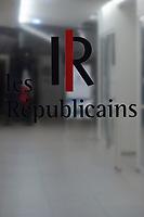 POINT PRESSE DE LAURENT WAUQUIEZ AU QG DES REPUBLICAINS A PARIS, FRANCE, LE 13/12/2017.