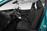 Front seat view of 2019 Toyota Prius-Prime Plus 5 Door Hatchback Front Seat  car photos