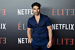 Christian Sanchez attends to 'Elite' premiere at Museo Reina Sofia in Madrid, Spain. October 02, 2018. (ALTERPHOTOS/A. Perez Meca)