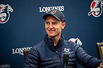 SHA TIN, HONG KONG – December 5:Zac Purton at the Press conference at Sha Tin Race Course in Hong Kong before starting in the Longines Hong Kong Mile. Michael McInally/Eclipse Sportswire/CSM