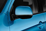 Side mirror detail of a 2011 Mitsubishi Outlander Sport SE