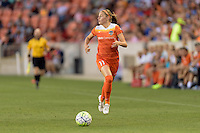 Houston, TX - Friday May 20, 2016: Janine Beckie (11) of the Houston Dash. The Orlando Pride defeated the Houston Dash 1-0 during a regular season National Women's Soccer League (NWSL) match at BBVA Compass Stadium.