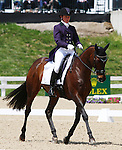 April 23, 2014: Here's To You and Emily Beshear during the first horse inspection at the Rolex Three Day Event in Lexington, KY at the Kentucky Horse Park.  Candice Chavez/ESW/CSM