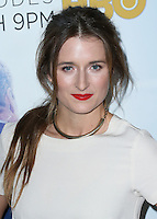 LOS ANGELES, CA, USA - NOVEMBER 04: Grace Gummer arrives at the Los Angeles Season 3 Premiere Of HBO's Series 'The Newsroom' held at the DGA Theatre on November 4, 2014 in Los Angeles, California, United States. (Photo by Xavier Collin/Celebrity Monitor)