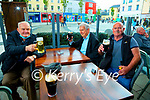 Seanine Rue, Ted O'Donoghue and John McGarry pictured at An Chearnóg, Tralee on Monday