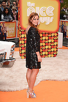 """Arielle Free<br /> arrives for the premiere of """"The Nice Guys"""" at the Odeon Leicester Square, London.<br /> <br /> <br /> ©Ash Knotek  D3120  19/05/2016"""