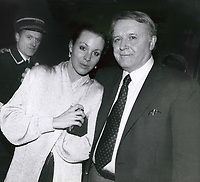 Rod Steiger & Paula Ellis 1986<br /> Photo By John Barrett-PHOTOlink.net