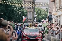 peloton leaving Troyes<br /> <br /> 104th Tour de France 2017<br /> Stage 7 - Troyes › Nuits-Saint-Georges (214km)
