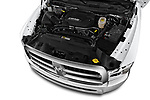 Car stock 2018 Ram Ram 2500 Pickup Tradesman 4wd Crew Cab LWB 4 Door Pick Up engine high angle detail view
