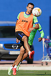 Getafe CF's Nemanja Maksimovic during training session. August 26,2021.(ALTERPHOTOS/Acero)
