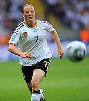Melanie Behringer of team Germany during the FIFA Women's World Cup at the FIFA Stadium in Frankfurt, Germany on June 30th, 2011.