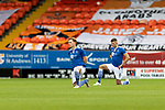 Dundee United v St Johnstone…..01.08.20   Tannadice  SPFL<br />Liam Craig and Liam Gordon kneel before kick, supporting the Black Lives Matter<br />Picture by Graeme Hart.<br />Copyright Perthshire Picture Agency<br />Tel: 01738 623350  Mobile: 07990 594431