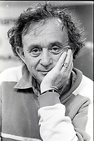 American filmaker Frederick Wiseman<br />  at the 1987 World Film Festival, August 25, 1987<br /> <br /> PHOTO : Agence Quebec Presse - Pierre Roussel