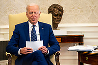 Biden Meets With Congressional Asian Pacific American Caucus
