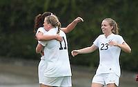 Alex Morgan, Katrin Omarsdottir and Miranda White  Cal Women's Soccer vs Washington State October 17th, 2010.