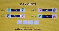 BOGOTA - COLOMBIA, 18-04-2020: Sorteo Cuartos de Final de la Liga BetPlay DIMAYOR I 2021 en la ciudad de Bogota. / Quarterfinal draw of the BetPlay DIMAYOR I 2021 League in Bogota city. Photo: VizzorImage / Samuel Norato / Cont.
