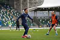 BELFAST, NORTHERN IRELAND - MARCH 28: Sergino Dest #2 of the United States before a game between Northern Ireland and USMNT at Windsor Park on March 28, 2021 in Belfast, Northern Ireland.