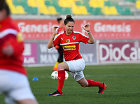 20190227 - LARNACA , CYPRUS : Austrian Sabrina Horvat pictured during a women's soccer game between the Super Falcons of Nigeria and Austria , on Wednesday 27 February 2019 at the AEK Arena in Larnaca , Cyprus . This is the first game in group C for both teams during the Cyprus Womens Cup 2019 , a prestigious women soccer tournament as a preparation on the Uefa Women's Euro 2021 qualification duels. PHOTO SPORTPIX.BE | DAVID CATRY